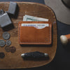 Troy Slim Wallet - TAN