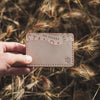 Troy Slim Wallet - Natural