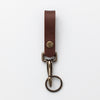 Belt loop Key Clip - Dark Brown
