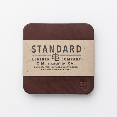 Odds & Ends Coaster Set - Brown