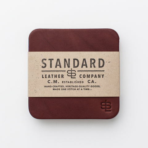 Odds & Ends Coaster Set - Chestnut