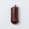 Campfire Lighter Case - Dark Brown
