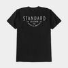 Standard Leather Co. Logo tee - Black
