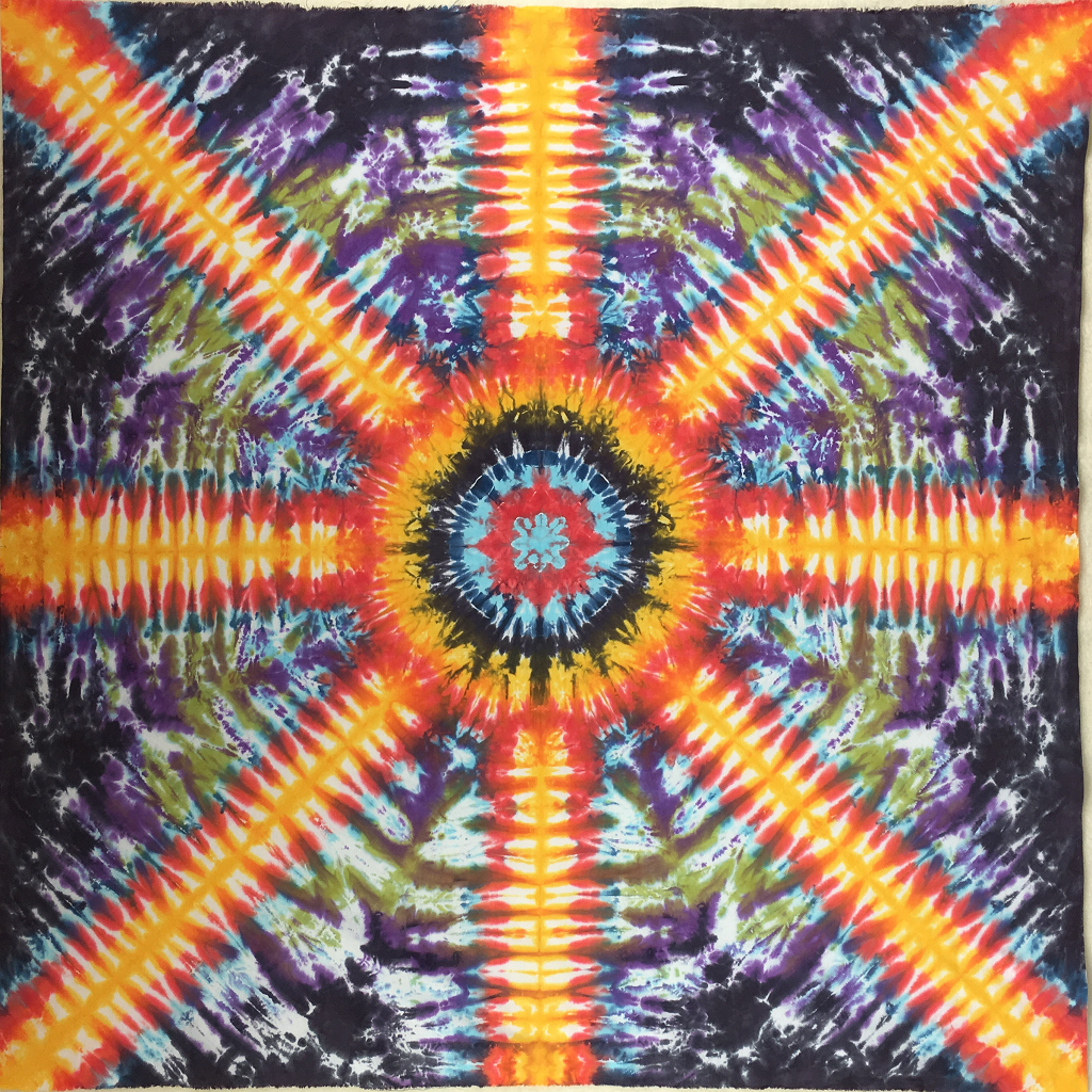 Aztec Radiance Hand Dyed Fabric