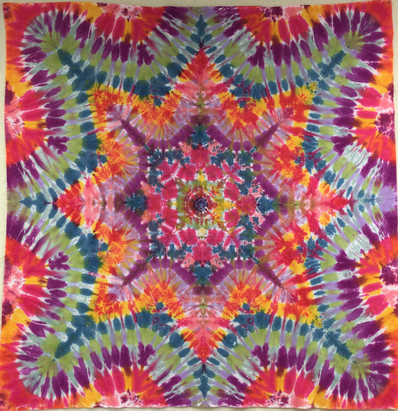 Tie Dyed Mandala - Diffuse Fractals
