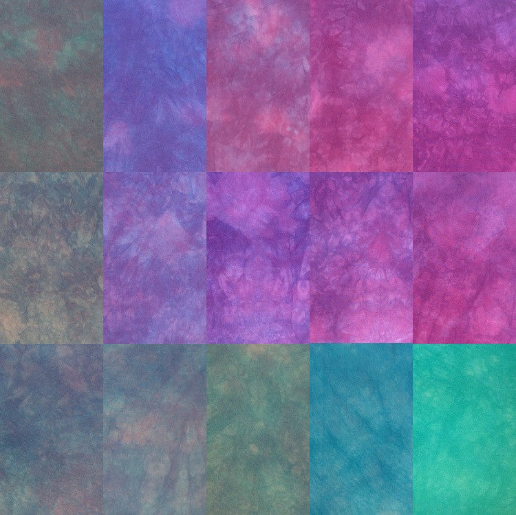 Hand Dyed Fabric - Quilting Cotton Colors