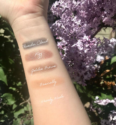 Elizabeth Mott Natural Eyeshadow Palette for summer