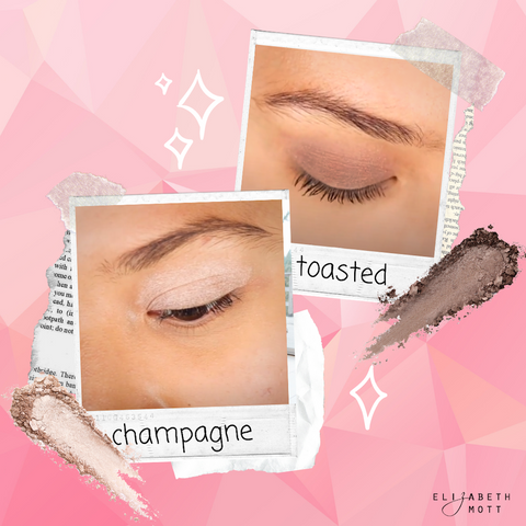 Pop Goes The EyeShadow Shades to make your eyes look bigger