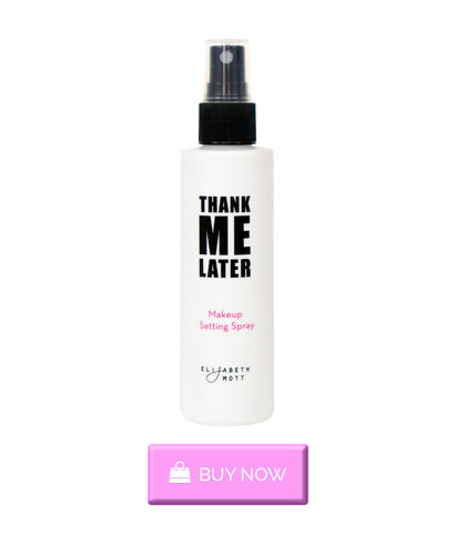Buy Thank Me Later Mattifying Makeup Setting Spray by Elizabeth Mott