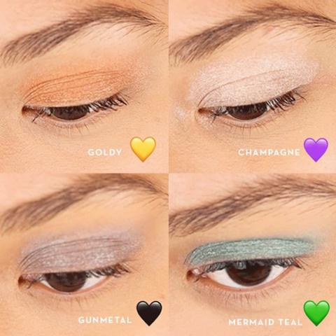 Pop! Goes The Shadow Eye Shadow Swatches