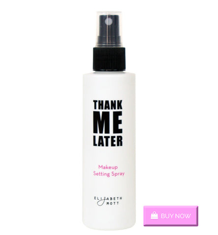 Cruelty-free Makeup Setting Spray from Elizabeth Mott