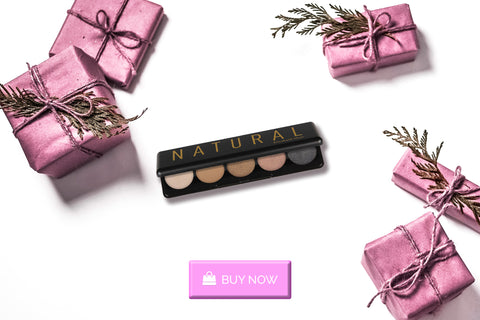 A natural eyeshadow palette gift for our eye makeup-wearing friends