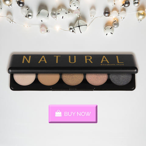 Natural Eyeshadow Palette For Christmas