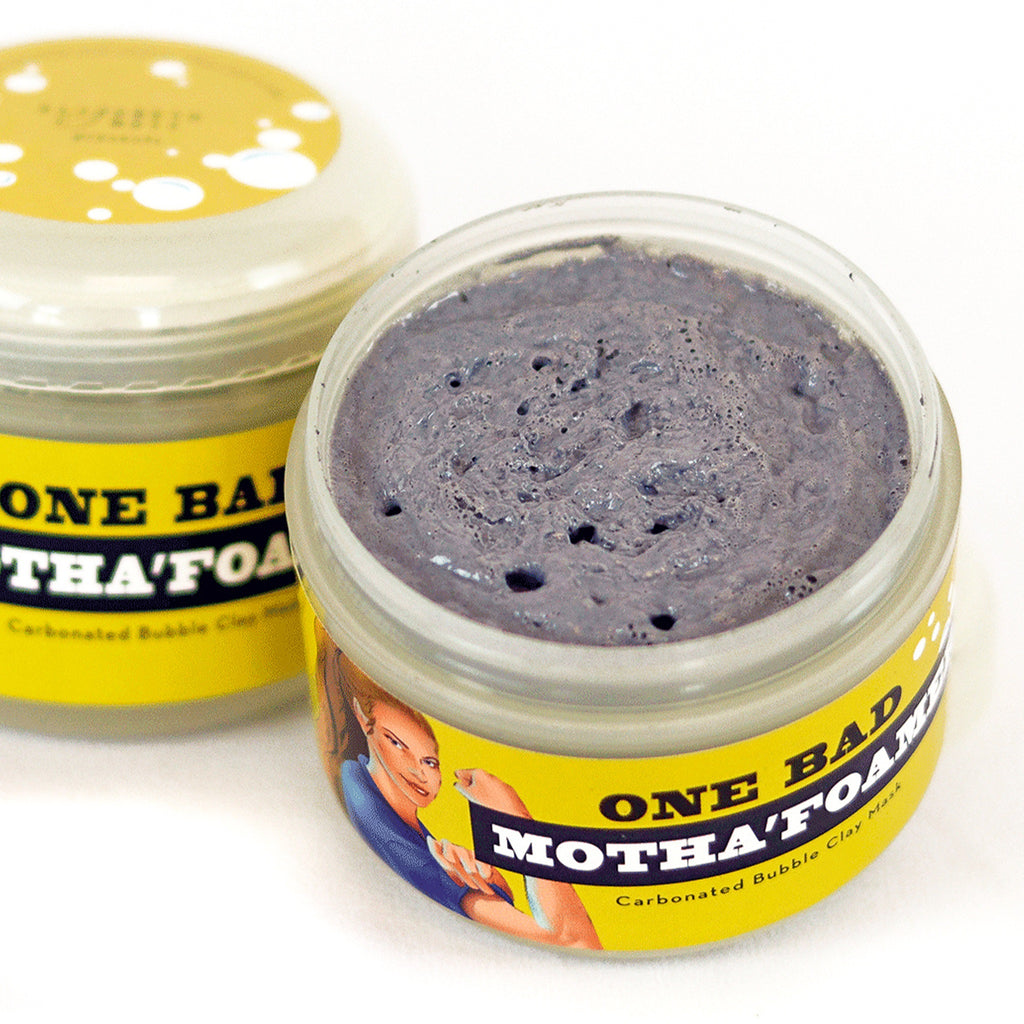 Carbonated Bubble Clay Mask - One Bad Motha'foamer