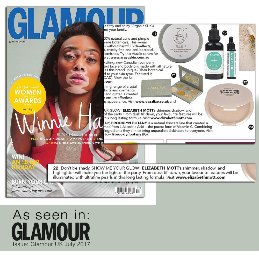 Glamour Best Highlighter Show Me Your Glow by Elizabeth Mott