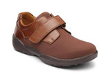 Brian-X Men's Extra Depth Shoe in Black or Chestnut