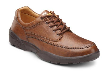 Stallion, Men's Lightweight Casual Lace-up Shoe in Black or Chestnut