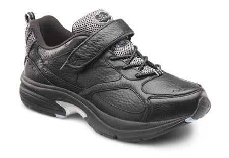 Spirit, Women's Dual Closure Leather Athletic Shoe in Black or White