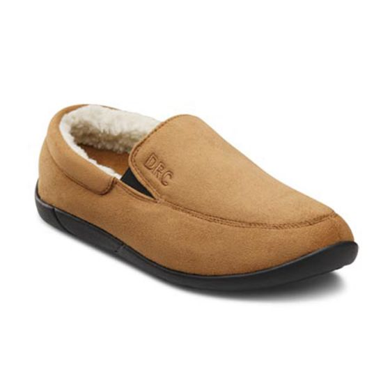 Cuddle, women's slippers in Pink and Tan