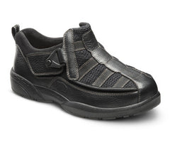 Edward X, Men's Therapeutic Extra Depth Shoe in Black