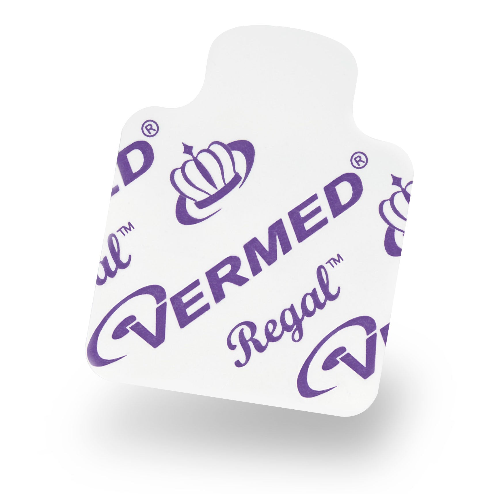 "Vermed A100023 Regal™ - Diagnostic Resting ECG Tab Electrode, Solid Gel, 1 1/8"" x 1 7/16"""