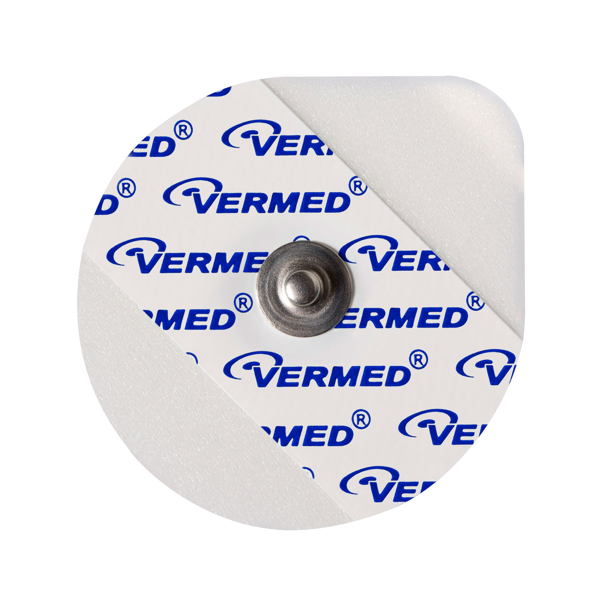 Vermed A10032-60 VersaTrode™ Solid Gel, Tape, Metal Snap, 1 7/8""