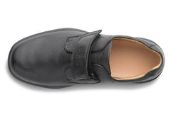 William, Men's Casual Strap Closure Shoe in Black or Chestnut