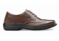 Wing, Men's Classic Wing Tip in Black or Chestnut