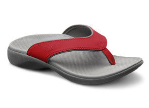 Shannon Ortho Sandals in Red, Black, or Tan