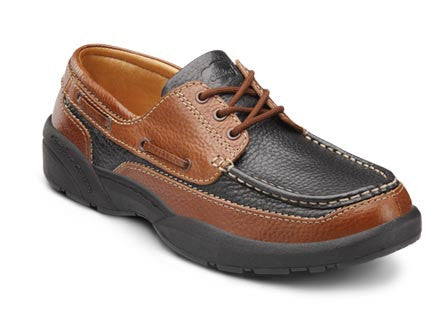 Patrick, Men's Boat Shoe in Black, Chestnut, or Multi-color