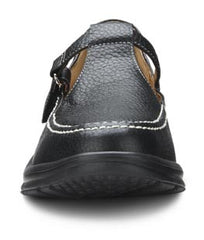 Lulu, Women's velcro closure with good looks in Black, Chestnut