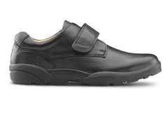 William-X, Men's Therapeutic Diabetic Extra Depth Shoe in Black