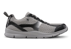 Chris, Men's Athletic Shoe in Black or Grey