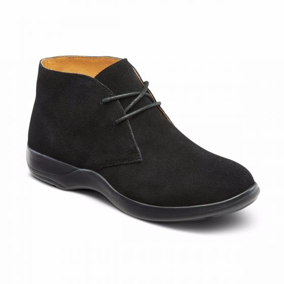 Cara, casual suede leather bootie