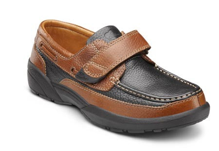 Mike, Men's Boat Shoe with Strap Closure