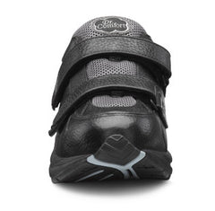 Spirit-X, Women's full leather diabetic trainer with Double Depth comfort in Black or White