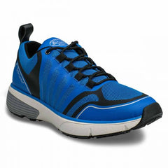 Gordon Men's Casual Walking Shoe in Black, Blue, White