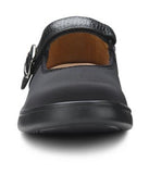 Merry-Jane, Women's open dress casual classic shoe in Black, Lycra, or Beige
