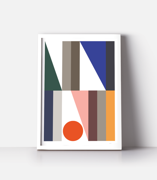 Geometri plakater — 23. Colourful