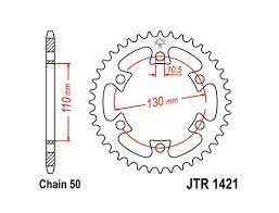 JTR 1421 Rear Sprocket