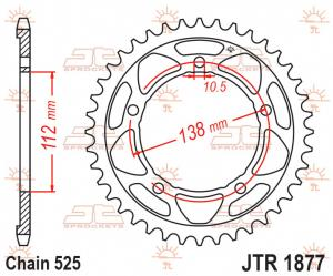 JTR 1877 Rear Sprocket