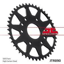 JTR 890 Zinc Black Rear Sprocket