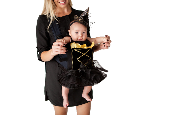 The Wee Witch Baby Carrier Costume