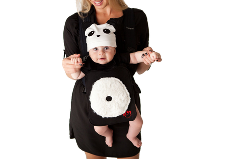 Plush the Panda Baby Carrier Costume