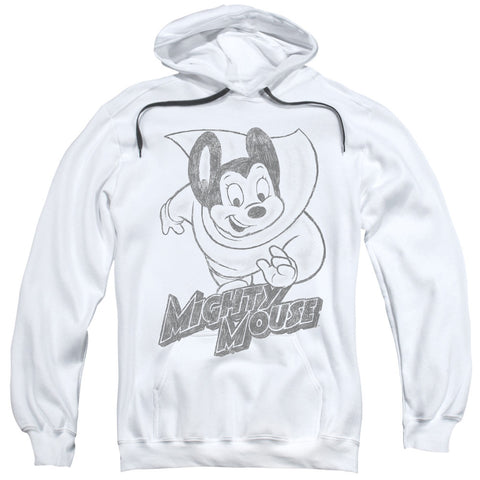 Mighty Mouse Mighty Sketch White