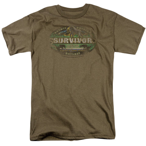 Survivor Gabon Distressed Safari Green