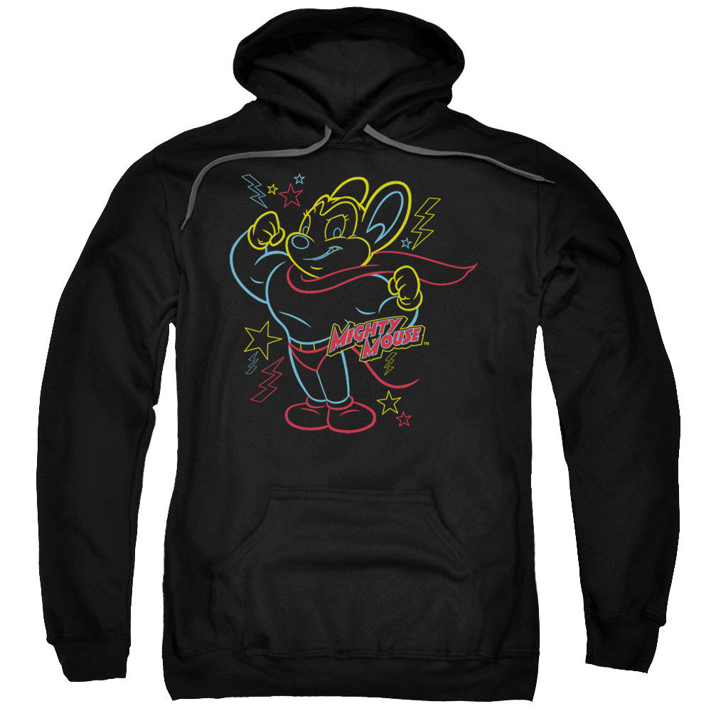 Mighty Mouse Neon Hero Black