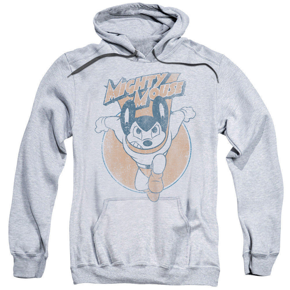 Mighty Mouse Flying With Purpose Athletic Heather