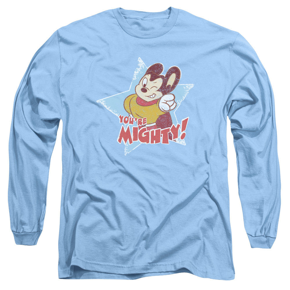 Mighty Mouse Youre Mighty Carolina Blue