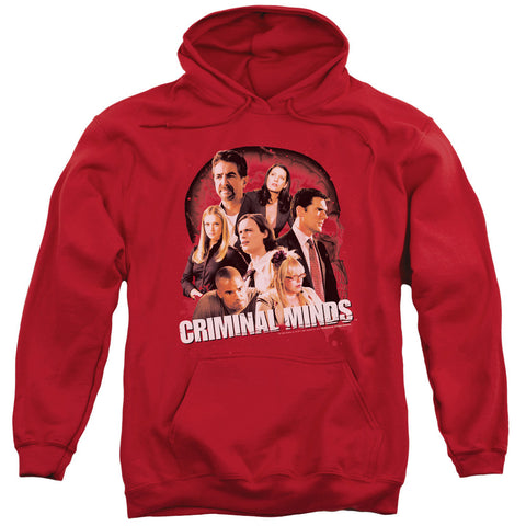 Criminal Minds Brain Trust Red